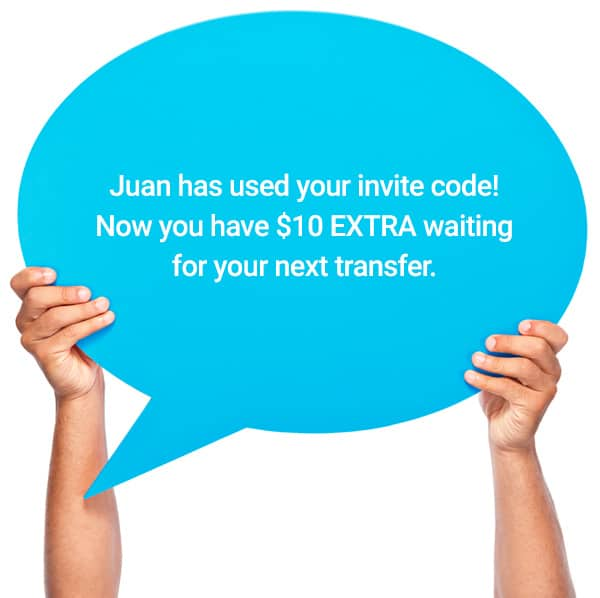 $10 EXTRA with Pangea Money Transfer